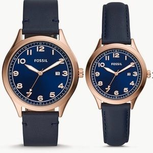 ❤️🥳 HOST PICK💜 His and Hers Fossil watch set